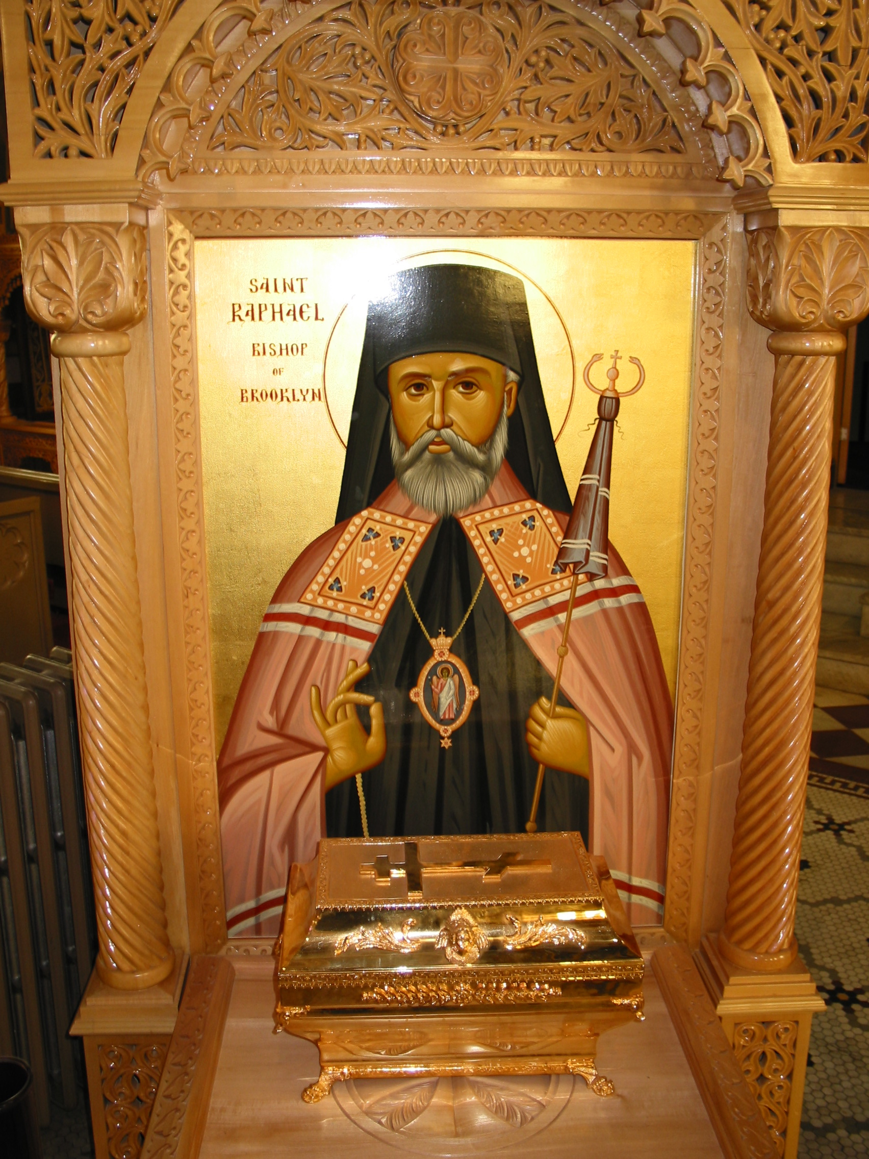 All That Remains Of St Raphaels >> St Nicholas Antiochian Orthodox Cathedral History